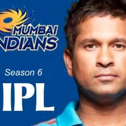 IPL Season 6 : First Time for Mumbai Indians – Last for Sachin.