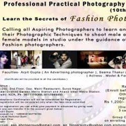 Professional Practical Photography Workshop & Group Shooting by ASP Group on 10th of June 2012 in Delhi.