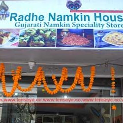 Inauguration of Shree Radhe Namkeen House.