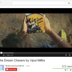 """Teaser of """"The Dream Chasers"""" by Vipul Mittra, Released on You Tube."""