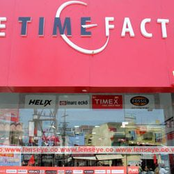 The Time Factory : First Showroom of Timex in Ranchi.