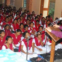 Career Counselling Programme in Ursuline Convent Girls High School, Ranchi.