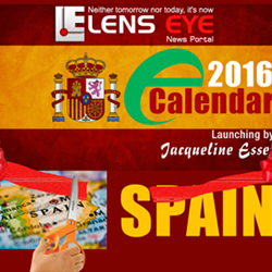 Lens Eye's  e – calendar : 2016 Launched in Spain.