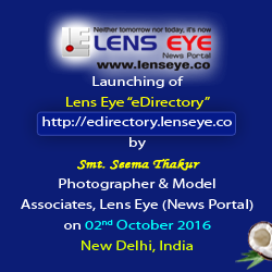 Seema Thakur launched e – Directory of Lens Eye in New Delhi.