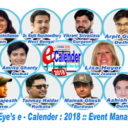 Lens Eye's e – calender 2018 :: The Event managers.