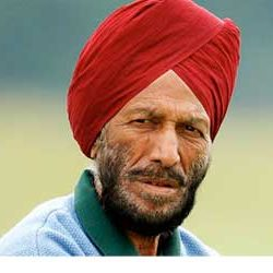 Milkha Singh won the first National Title in the 400 m Race in 1957, says lenseyenews.com Online Poll.
