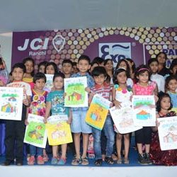 Painting Competition Organise in Expo 2013