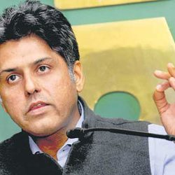 Manish Tiwari out of Par panel on Lokpal