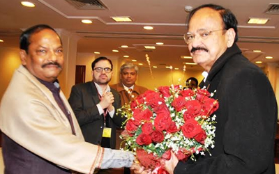 Jharkhand Chief Minister, Raghubar Das met various Ministers in Delhi