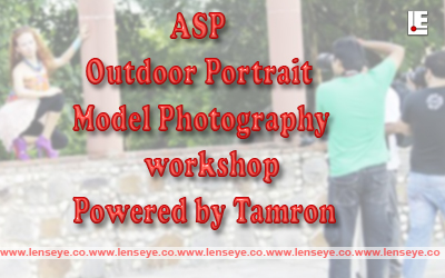 ASP Outdoor Portrait Model Photography workshop on 7th of Jan 2015 at New Delhi.
