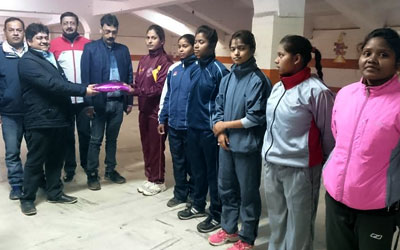 Jharkhand Wushu team departed to Chandigarh to take part in 24th Senior National Wushu Championship.