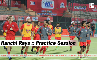 Ranchi Rays :: Practice Session