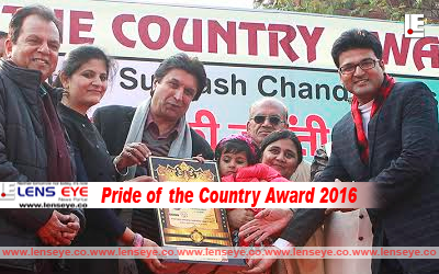 Pride of the Country Award 2016
