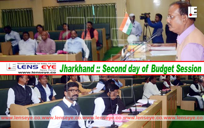 Jharkhand :: Second day of Budget Session