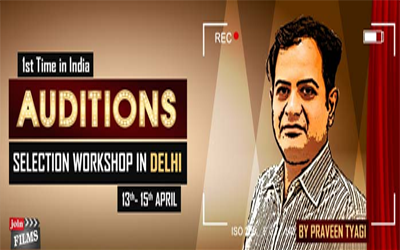 Acting Audition Workshop by Joinfilms on 13th April 2016.