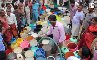 Water crises in Ranchi Jharkhand