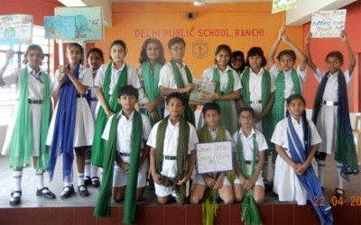 Earth Day celebrated in DPS, Ranchi