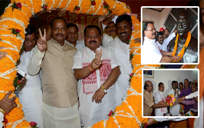 Newly appointed State BJP President