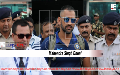 The 4th ODI match India Vs New Zealand :: M.S arrives