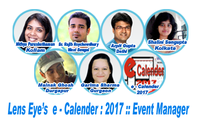 Event manager e calender lens eye