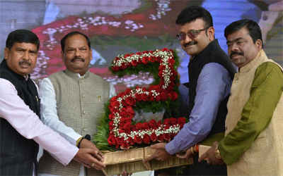 RaghubarDas completed two years as Jharkhand Chief Minister