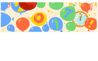 Google says Happy New Year with an animated Doodle