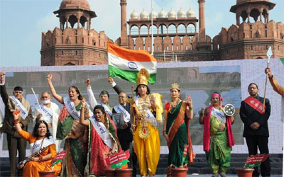 Bharat Parv :: Anuvrat echo at Red fort
