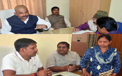 BJP Karyakarta Darbar :: On the spot solution to party workers