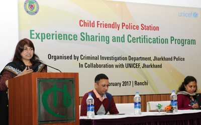 Child Friendly Police Station :Experience Sharing and Certification Programme