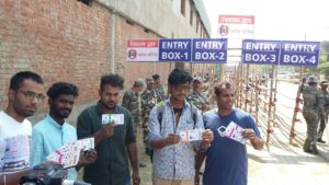 Ranchi : selling of ticket of cricket test match started