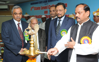 The 3rd State Level Colloquium on Victim-Emancipation through compensation by JHALSA
