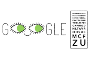 Google celebrated birthday of French ophthalmologist, Ferdinand Monoyer with an animated Doodle