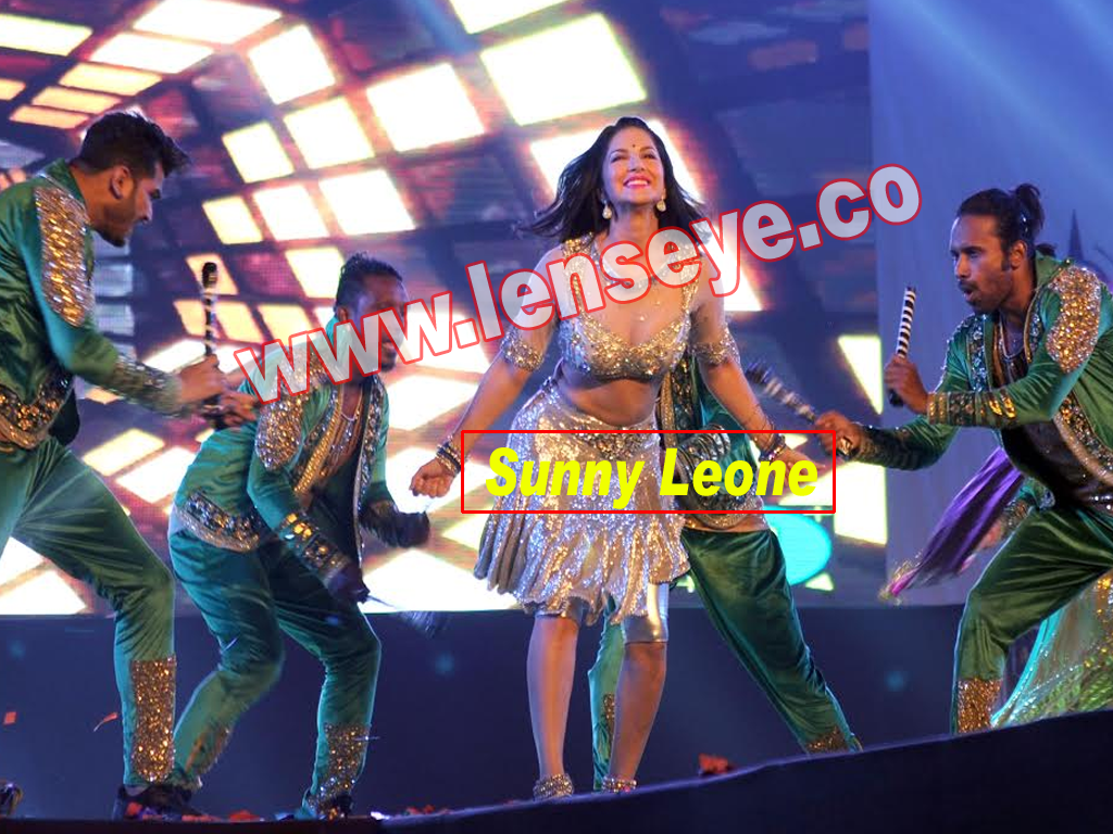 Bollywood actress Sunny Leone performed inMr.and Miss Attitude East Zone 2017