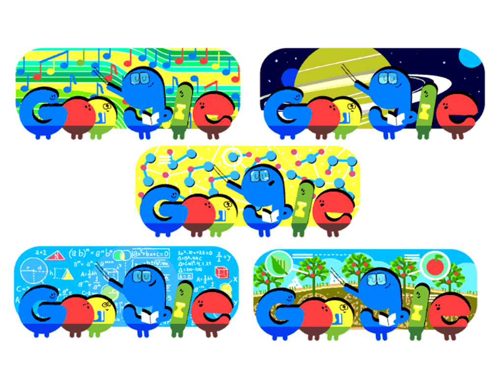 Google celebrated Teachers day with a animated Doodle