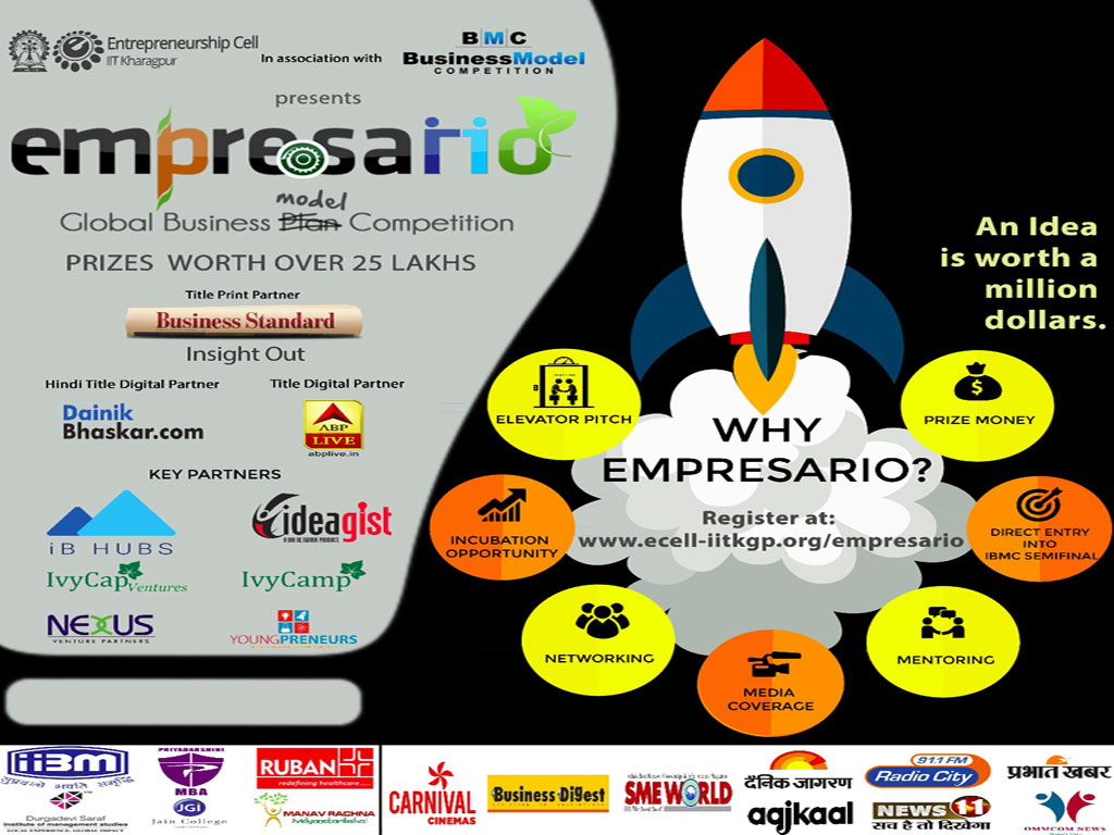 Empresario :: A Global Business model Competition by Entrepreneurship Cell IIT Kharagpur