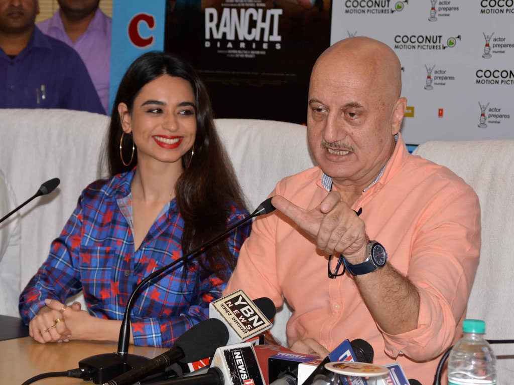 Promotion of film Ranchi Diaries in Ranchi.