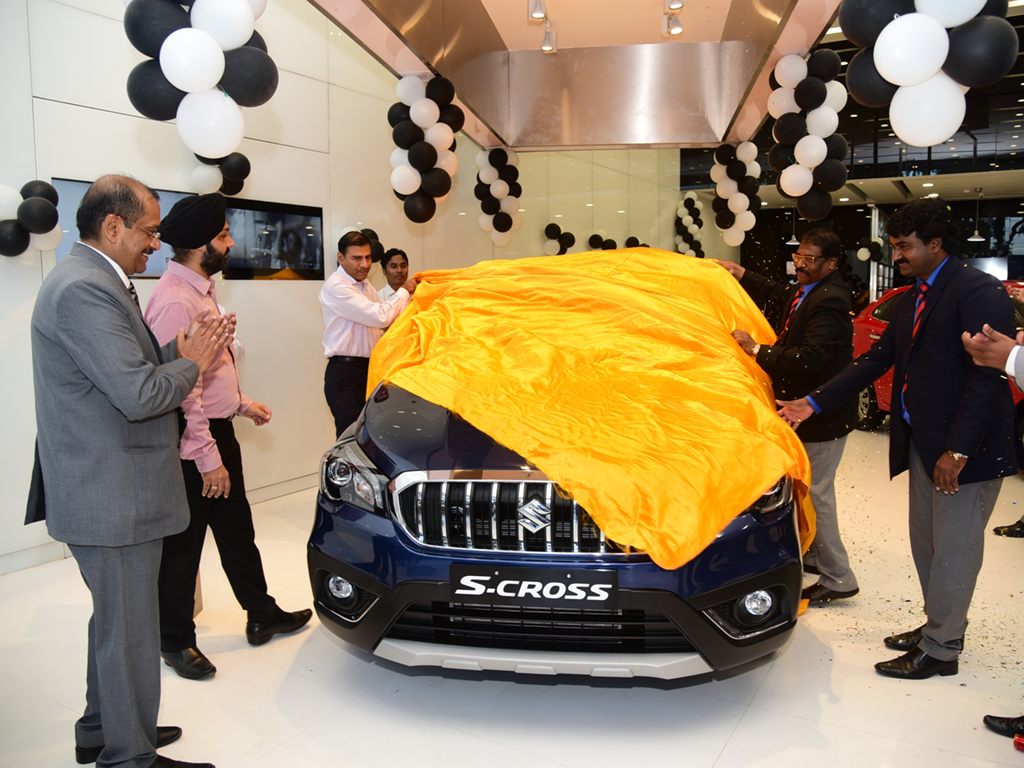 Maruti S-Cross Launched