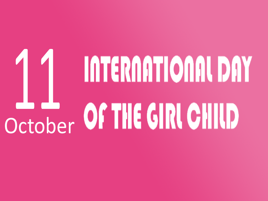 "International Day of the Girl Child ( 11 October ) :: ""EmPOWER girls: Emergency response and resilience planning""."