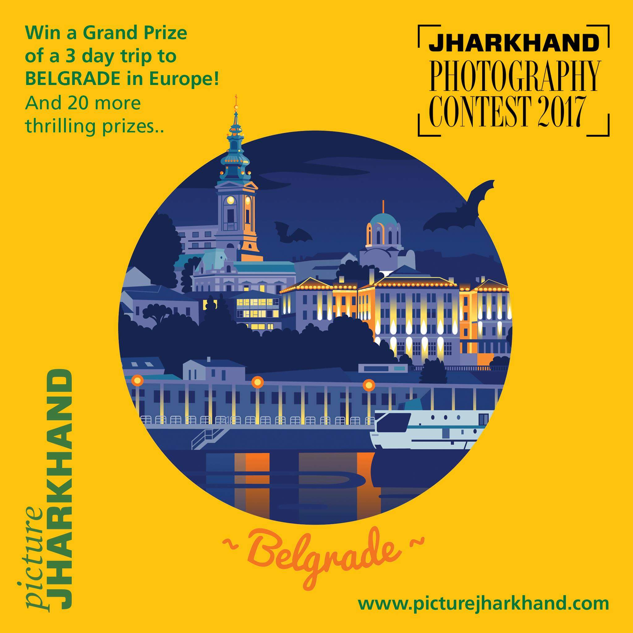 Picture Jharkhand Photography Contest 2017: Grand Prize : a 3-day trip to Belgrade
